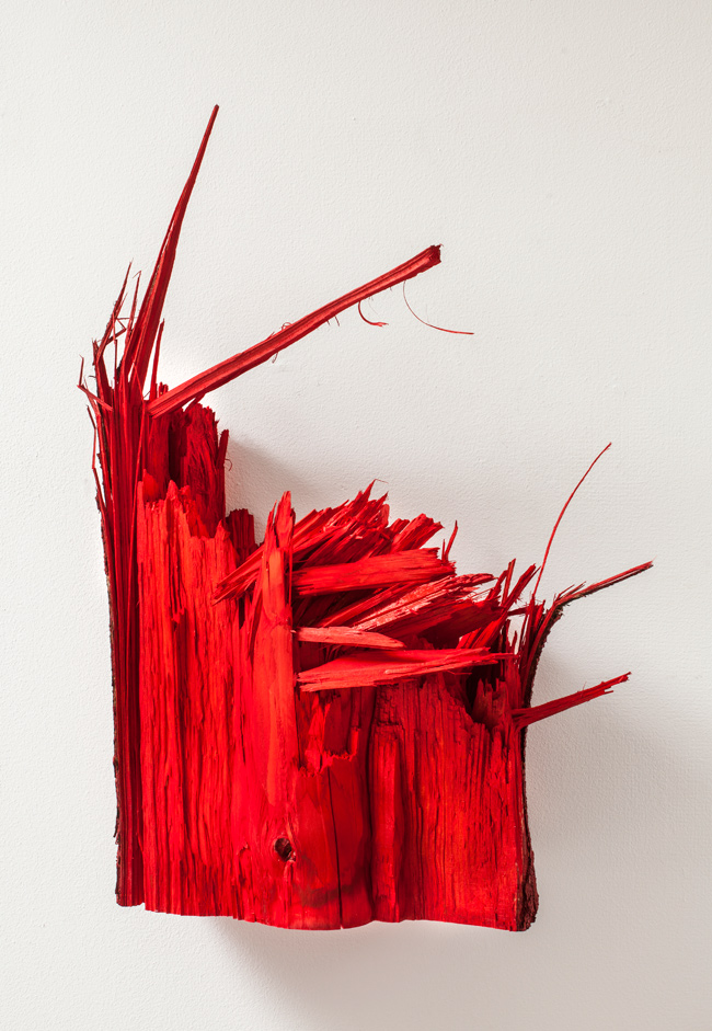 Wood, stained, 2014